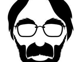 #45 cho Silhouete illustration of filmmaker Michael Haneke bởi Bibicon