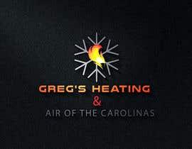 nº 16 pour Gregs Heating and Air Logo par hafiz62