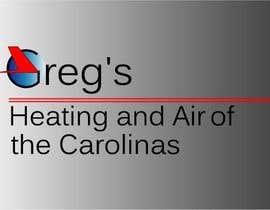 nº 23 pour Gregs Heating and Air Logo par rajaulkarimnipon
