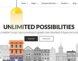 nº 13 pour Design for a website header par yulika2003