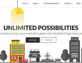 nº 16 pour Design for a website header par yulika2003