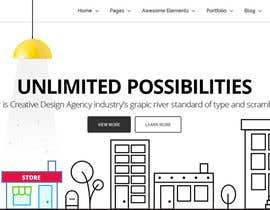 nº 14 pour Design for a website header par nsrn7