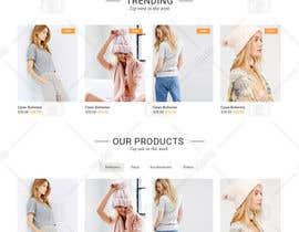 nº 8 pour Design Homepage Mobile Template of Current Responsive Site par doomshellsl