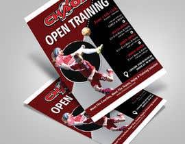 nº 17 pour URGENT Design a Flyer Advertising Open Training for our Club par satishchand75