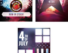 nº 12 pour Fireworks Sales Banners par anastradi
