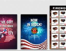 nº 27 pour Fireworks Sales Banners par sevastitsavo