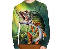 nº 16 pour T shirt fishing Graphic Design par EchoDesigns