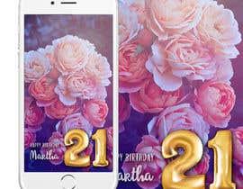 nº 1 pour Design a Birthday Snapchat Filter par harmeetgraphix