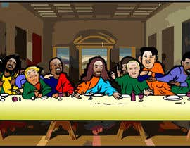 #9 for Illustrate Something parody of the last supper af manikmoon