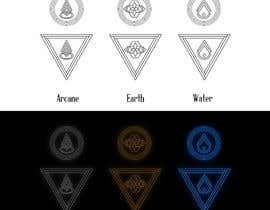 nº 6 pour Elemental icons for book cover par ledinhan2596