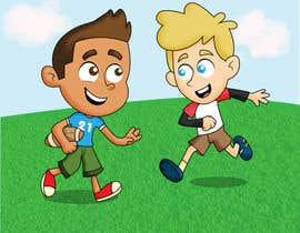 nº 27 pour Illustrator for sports-themed children's book needed par Thabsheeribz
