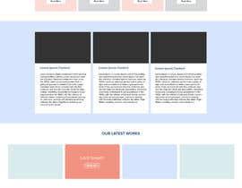 nº 5 pour Design a Website Mockup par pradeep9266