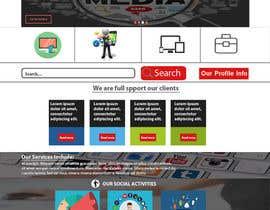 nº 10 pour Design a Website Mockup par metulroy00