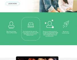 nº 8 pour Design a Website Mockup par whyssonstudio