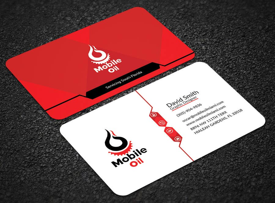 Entry 42 by mehfuz780 for design some business cards for a mobile contest entry 42 for design some business cards for a mobile oil change company reheart Gallery