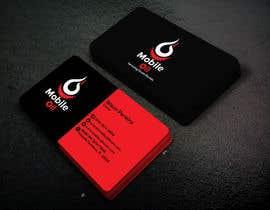 nº 25 pour Design some Business Cards for a Mobile Oil Change Company par sujatasuja