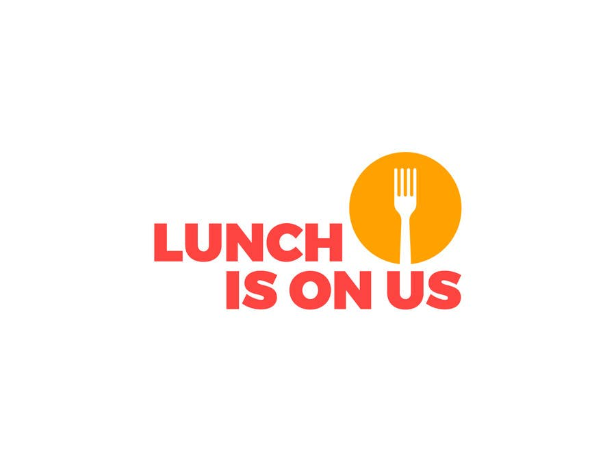 Proposition n°685 du concours Lunch Is On Us Logo