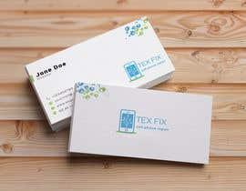 nº 17 pour business cards for mobile repair and parts sales par jisu