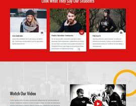 nº 38 pour Design a Website Mockup par zaxsol