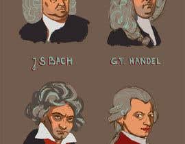 nº 15 pour Cartoonize Classical composers par AndreiiDragomir