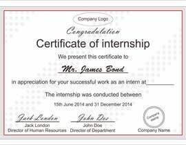 Design internship certificate freelancer hayesnch design internship certificate 46 yadclub Choice Image