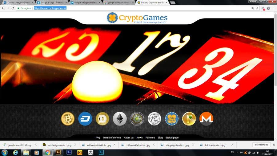 Proposition n°38 du concours Unique background image for casino website