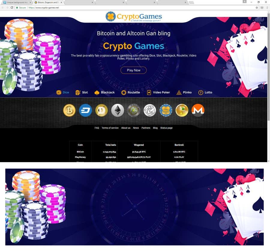 Proposition n°40 du concours Unique background image for casino website