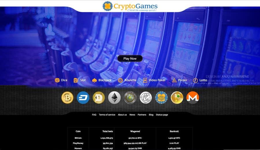 Proposition n°35 du concours Unique background image for casino website