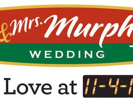nº 46 pour Wedding Invitation Logo par SundialStudiosIL