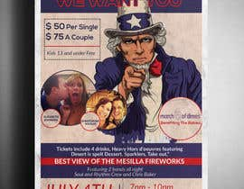 nº 30 pour Flyer for 4th of July par victorartist