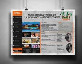 nº 6 pour Metro Caribbean Mobile App Launch Contest par victorartist