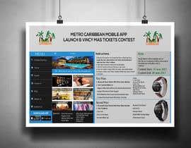 nº 10 pour Metro Caribbean Mobile App Launch Contest par victorartist