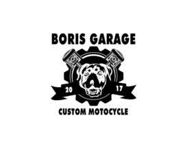 nº 9 pour Logo for BorisGarage par zenlix