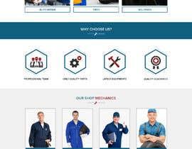 #5 for Design a website for an auto mechanic shop by rosepapri