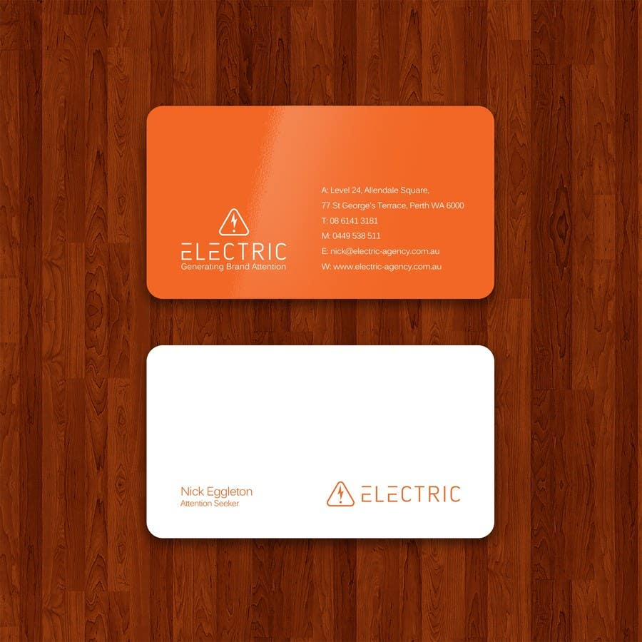 Entry #110 by mdrakibhasan583 for Design some Business Cards and ...