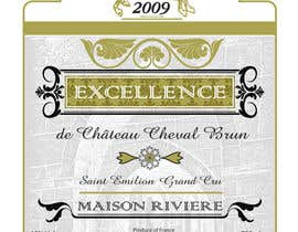 #28 for Print & Packaging Design for Excellence Bordeaux Wine af scyan