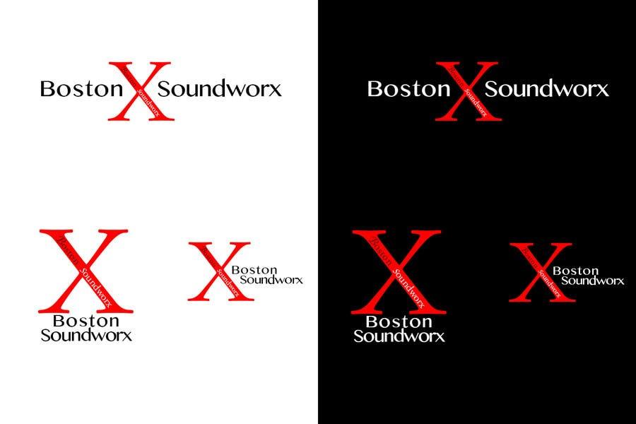 Конкурсная заявка №44 для Amazing Logo Design Needed for Boston Soundworx