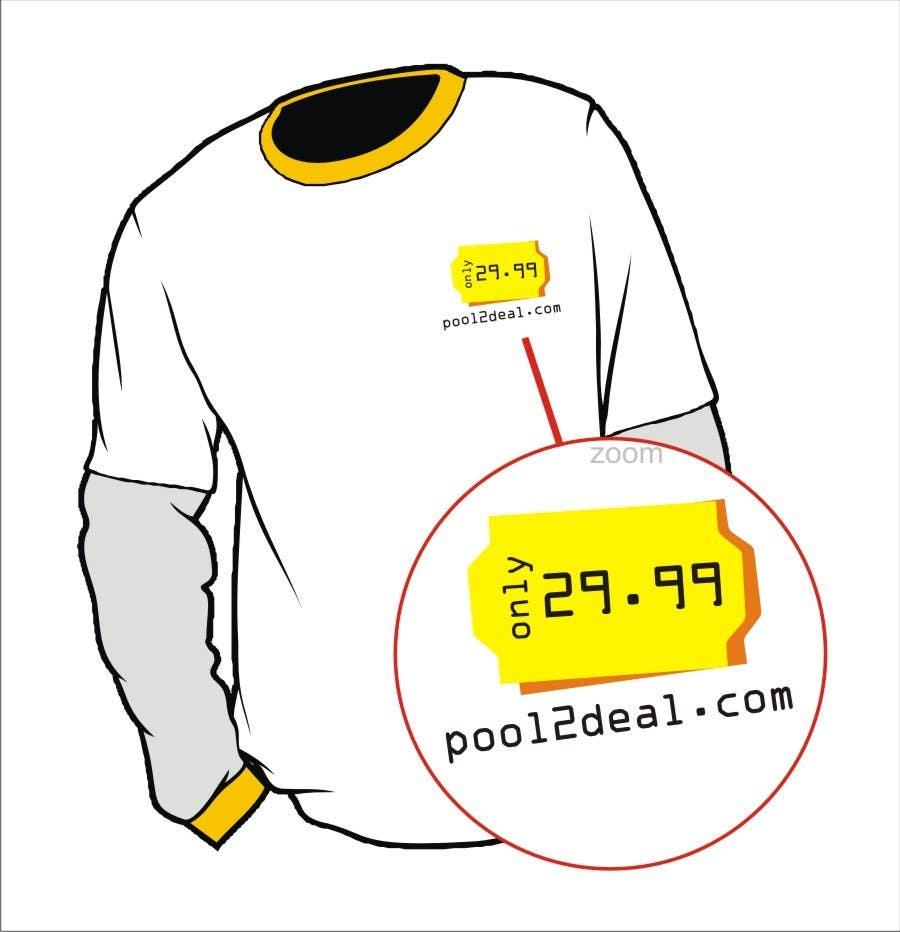 Konkurrenceindlæg #                                        14                                      for                                         T-shirt Design for pool2deal.com