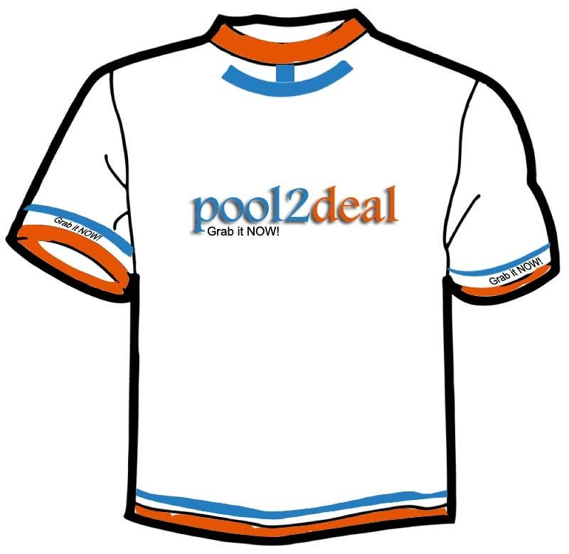 Contest Entry #                                        12                                      for                                         T-shirt Design for pool2deal.com