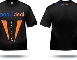 #18 para T-shirt Design for pool2deal.com de sashap