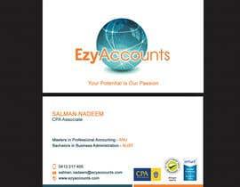 Nro 31 kilpailuun Design some Business Cards for an Accountant käyttäjältä SarahDar