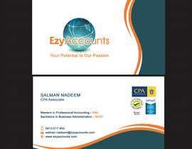 Nro 41 kilpailuun Design some Business Cards for an Accountant käyttäjältä SarahDar
