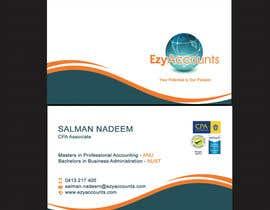 Nro 53 kilpailuun Design some Business Cards for an Accountant käyttäjältä SarahDar