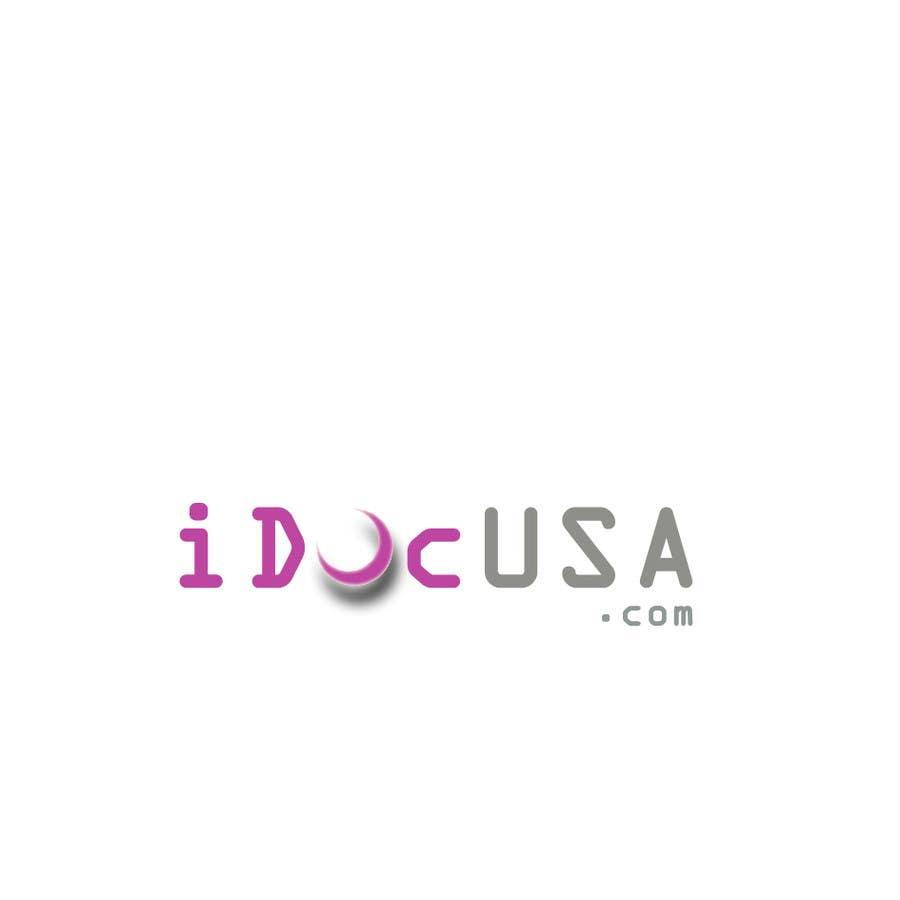 Penyertaan Peraduan #54 untuk Logo Design for iDocUSA.com