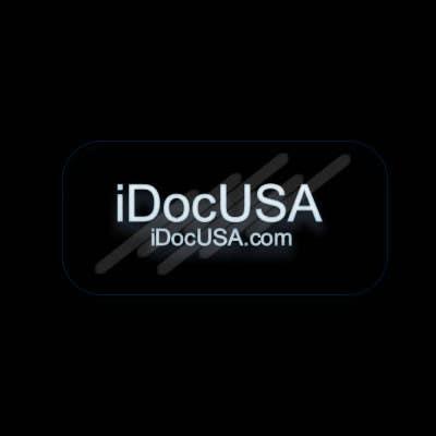 Konkurrenceindlæg #                                        56                                      for                                         Logo Design for iDocUSA.com