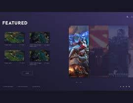 #22 for Designing A Gaming Video Website av vidovicm