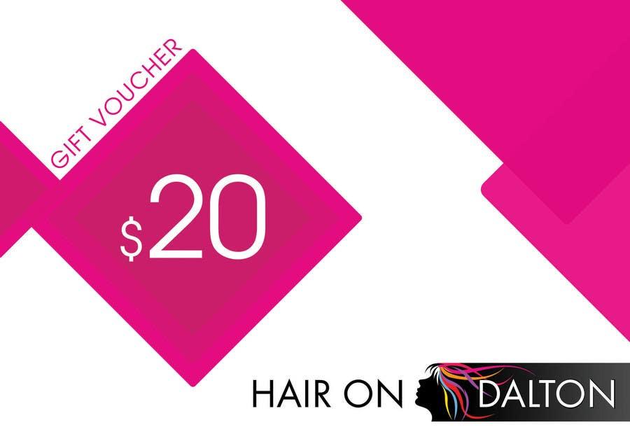 Конкурсная заявка №38 для Stationery Design for HAIR ON DALTON