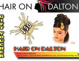 nº 154 pour Stationery Design for HAIR ON DALTON par Shahazada