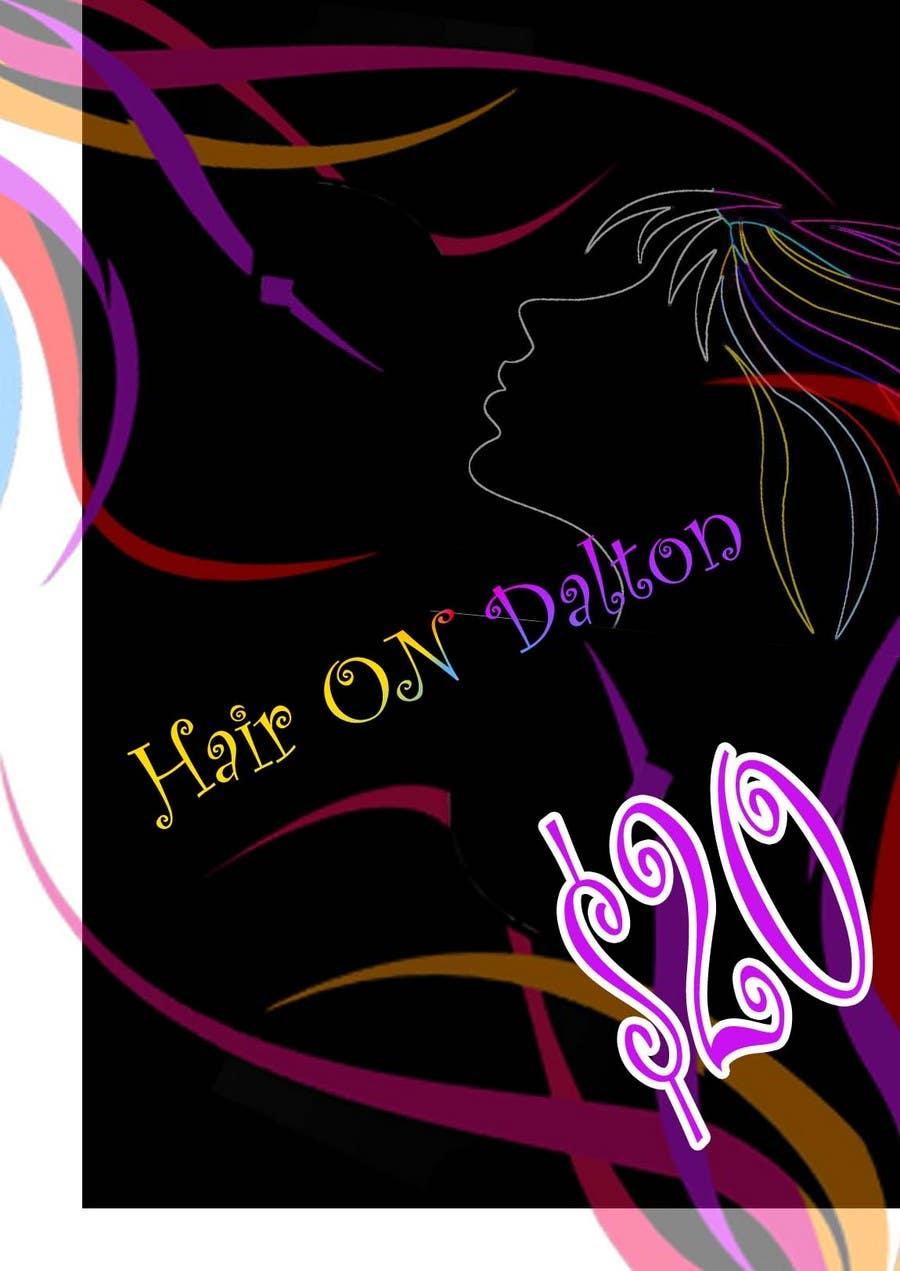 Конкурсная заявка №124 для Stationery Design for HAIR ON DALTON