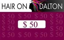 Graphic Design Zgłoszenie na Konkurs #8 do konkursu o nazwie Stationery Design for HAIR ON DALTON